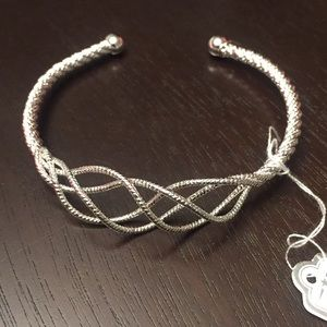 Silver cuff bracelet New